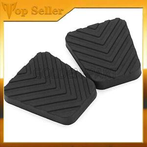 Fit for Kia fit forte Optima Rio Soul Sorento 2PCS Clutch Brake Pedal Pad Cover
