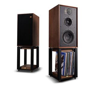 Wharfedale Linton Speakers - Mahogany