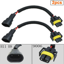 2pcs HB4/9006 To H8 H11 Converter Socket Harness Adapter Cable for Foglight New