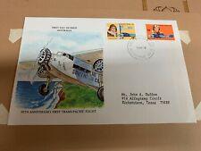 Dr Wonder'S Australia 50 Anniversary First in flight Fdc 1978 (Folder 3994)