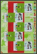 Football Sheet European Stamps