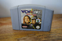 Jeu WCW vs nWo World Tour pour Nintendo 64 N64 (PAL)