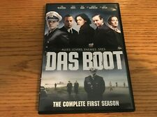Das Boot Complete Season One Dvd 3-Disc 8 Episodes Region 1