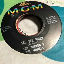 45RPM MIXPB Eric Burden / Animals See See Rider / She'll Return It MY#5715