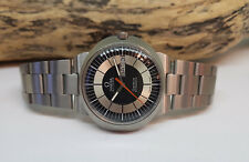 USED VINTAGE OMEGA DYNAMIC BLACK & SILVER DIAL DAYDATE AUTOMATIC MAN'S WATCH
