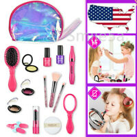 Little Girls Kids Cosmetic Kit Pretend Play Cosmetic Makeup Toy Set  Beauty Toys