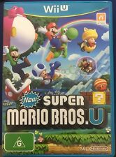 Like New Nintendo Wii U Video Game New Super Mario Bros.U PAL version