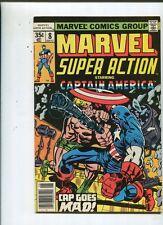 Marvel  Super Action #8 Captain America VG  or Better  CBX1N