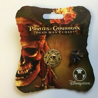 Pirates of the Caribbean: Dead Man's Chest - Aztec Coin & Jack Disney Pin 47862