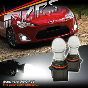 2x MARS Performance High Power P13W 3D LED SMD Fog Light bulbs for Toyota 86 GT