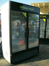 True GDM-49F Commercial Display Freezer Merchandiser 2 Glass Doors