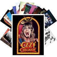 Postcards Pack [24 cards] Ozzy Osbourne Heavy Metal Rock Music Vintage CC1267