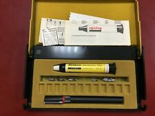 More details for rotring graphos pen set with 6 nibs plus additional 118 nibs see photo