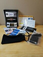 *Silver* Nintendo Game Boy Micro [Flawless] Handheld System with Box & Manuals!!