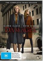 Damages Season SERIES 3 Three (DVD, 2010, 3-Disc Set) REGION 4 AUSTRALIA