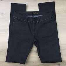 Ben Sherman Jett Skinny Grey Zip Trim Women's Jeans Size 12 / 30 NWOT (OO10)