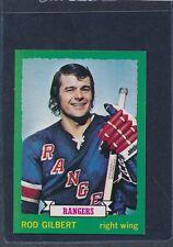 1973/74 OPC O-Pee-Chee CB #156 Rod Gilbert Rangers NM-MT+ 73OPC156-111815-2