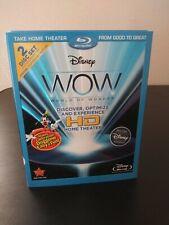 Disney WOW: World of Wonder [Blu-ray] HD Home Theater 2 Disc Set