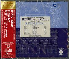 MARIA CALLAS-VERDI: RIGOLETTO-JAPAN 2 SACD HYBRID K81