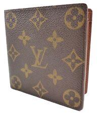 Louis Vuitton Authentic Men's Marco Wallet Monogram Canvas & Leather Bifold