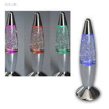 Glitzerlampe GLITTER-Lavalampe Lavaleuchte Batteriebetr Lavaleuchte Glitterlampe