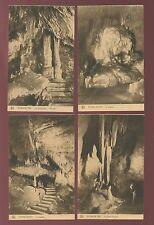 Belgium GROTTE DE HAN  Grotto CAVING Han-sur-Lesse x10 c1920/40s? PPCs