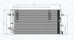 CONDENSATORE RADIATORE ARIA CONDIZIONATA AUDI A4 AVANT (8K5, B8) 2.0 TDI