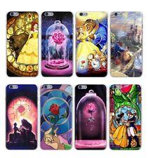 La Bella y La Bestia Disney Funda Carcasa para iPhone 6,7,8,X Samsung S7,S8,S9