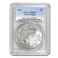 2006 Silver American Eagle MS-69 PCGS - SKU #31150