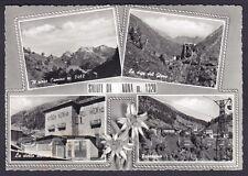 BERGAMO VILMINORE DI SCALVE 09 Fraz. NONA SALUTI da... Cartolina FOT. viag 1966