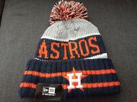 MLB Houston Astros New Era Knit Winter Pom Beanie Hat Cap