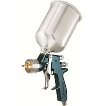 DeVilbiss FinishLine 4 HVLP Spray Gun with 1.3mm Tip, Metal Cup and Lid