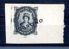 SPAIN - SPAGNA - 1874 - LOGRONO. Società del francobollo. Frammento. E1088