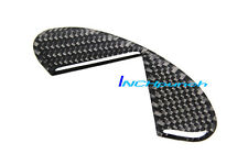 For Infiniti G35 Coupe S BLACK Carbon Fiber Trunk Lid Emblem Filler Insert Decal