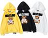Women's Men's Moschino Hoodies Hooded Sweatshirts Long Sleeve Sweaters 2020