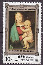 KOREA Pn. 1983 MNH** SC#2283 30ch, Raphael - Paintings Madonna of the Grand Duke