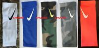 Nike Pro Dri-Fit white/blue/coral/ gray or green Shiver 3 arm sleeve,Youth O/S