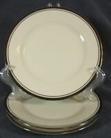 Noritake COUNTESS 7223 Lot of 3 Bread & Butter Plates Cream with Platinum Trim