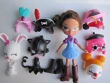 Bratz Doll 4 Ever Kidz Yasmin Snap on 7 Fun Super Funny Snap-On Faces