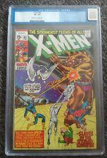 X-Men 65 Cgc 7.5 Vf-! Roy Thomas! Neal Adams! Return of Professor X!