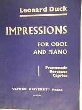 piano/oboe L. DUCK Impressions