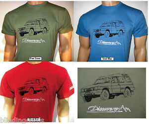 LAND ROVER DISCOVERY T-SHIRT - Choose from three different colours in five sizes