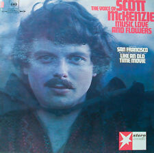 The voice of scott McKenzie-Music Love and Flowers-étoile musique [j995]