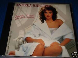 ANDREA JÜRGENS AMORE,AMORE IHRE SCHÖNSTEN LOVESONGS CD DEUTSCH SCHLAGER (YZ)