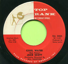 JACK SCOTT (Cool Water / It Only Happened Yesterday)  ROCKABILLY 45 RPM  RECORD