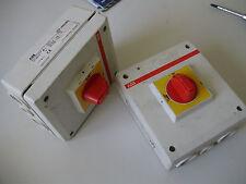 ABB OTP 16BA4MS Ue/V500 Drehschalter Schalter Hauptschalter Freischalter 25Amax.