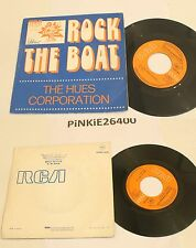 * THE HUES CORPORATION * ROCK THE BOAT  *    VG+ 1974 RCA .