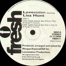 LOVESTATION - Love Come Rescue Me, Feat. Lisa Hunt - Fresh - FRSHT 1 - Uk