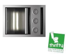 IXL Neo Tastic Single - Exhaust, Heat & Fan w/Energy Saving Light, Silver 31112