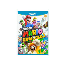 Super Mario 3D World (Nintendo Wii U, 2013) GOOD